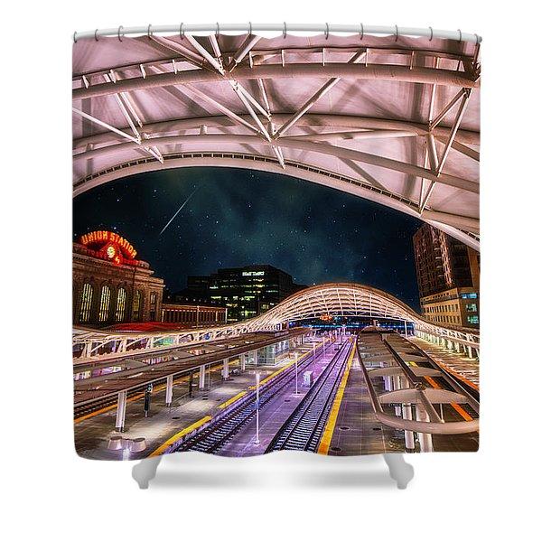 Denver Air Traveler Shower Curtain