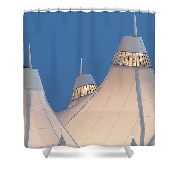 Denver International Airport Shower Curtain