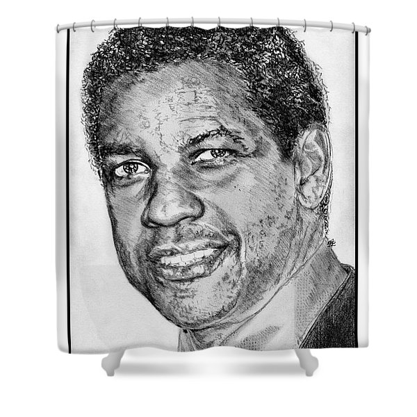 Denzel Washington In 2009 Shower Curtain