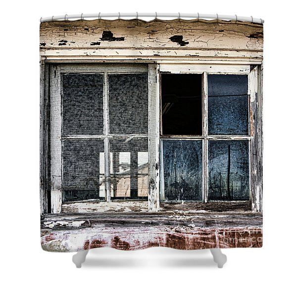 Derelict Shower Curtain