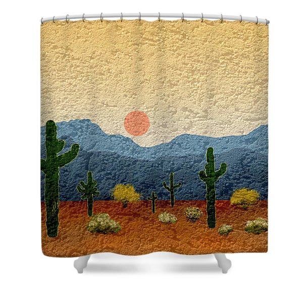 Desert Impressions Shower Curtain