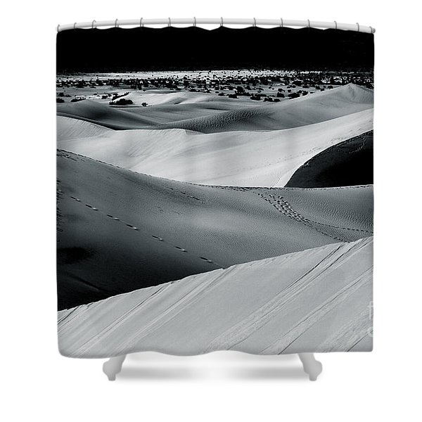 Desert Night Death Valley By Diana Sainz Shower Curtain