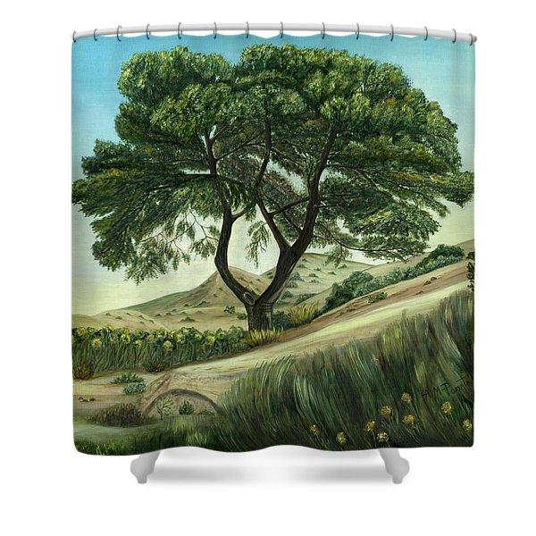 Desert Pine Shower Curtain