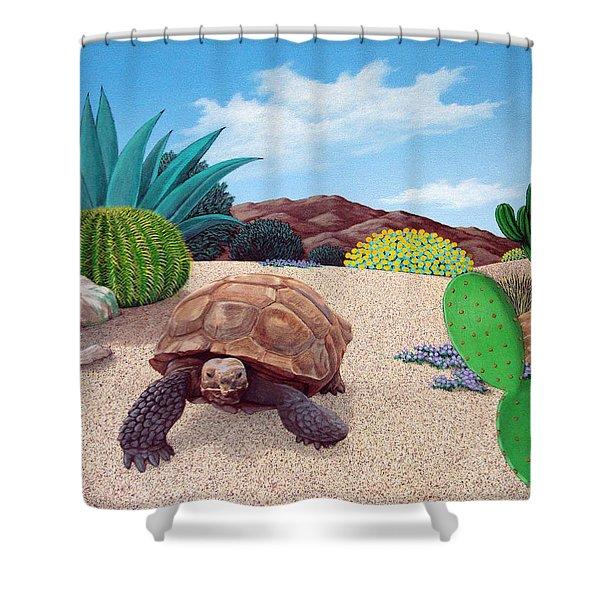 Desert Tortoise Shower Curtain