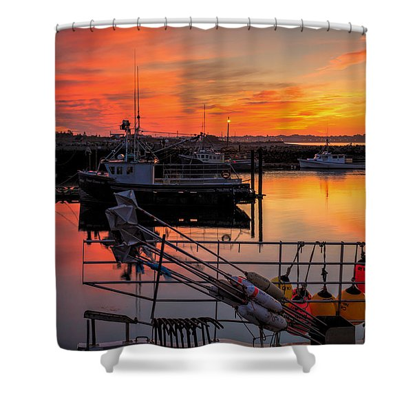 Desired Haven  Shower Curtain