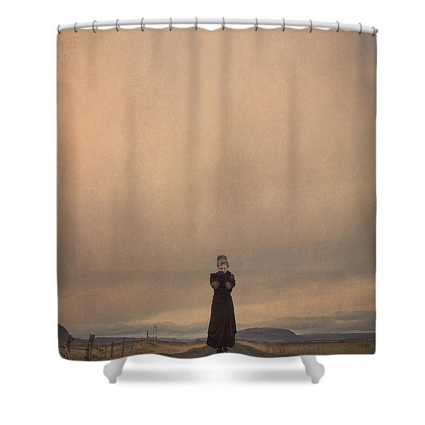 Desolate Ever After Shower Curtain