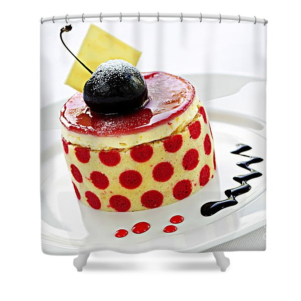 Dessert Shower Curtain