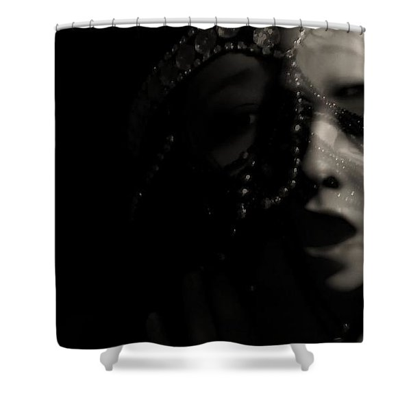 Devious Kicks Shower Curtain