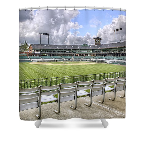 Dickey-stephens Park Shower Curtain