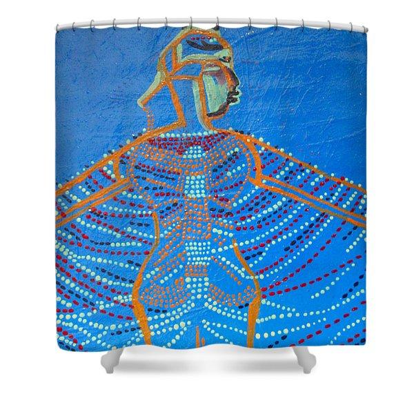 Dinka Corset Shower Curtain