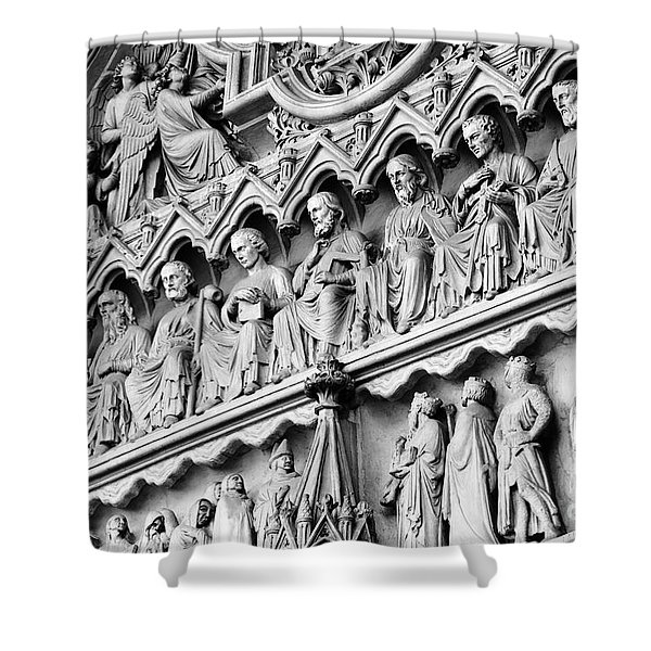 Disciples In Stone Shower Curtain