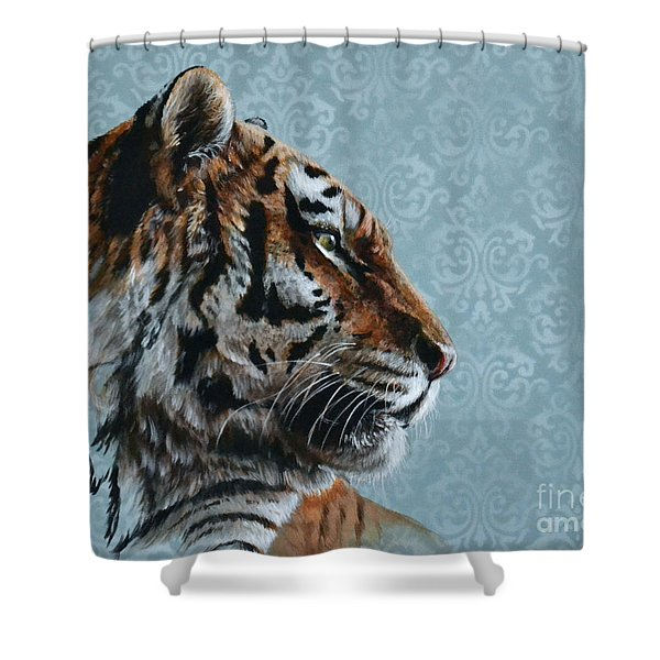 Disengage  Shower Curtain