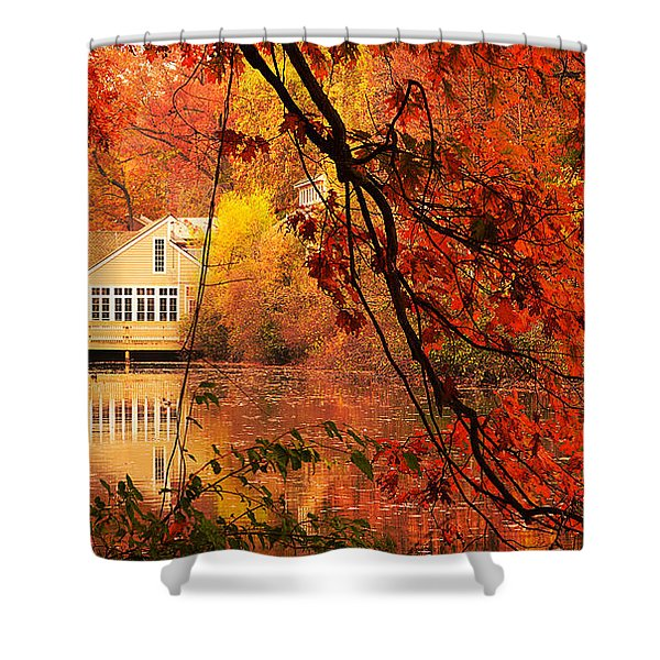 Display Of Beauty Shower Curtain