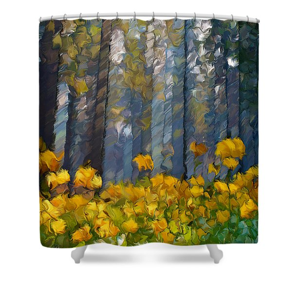 Distorted Dreams By Day Shower Curtain