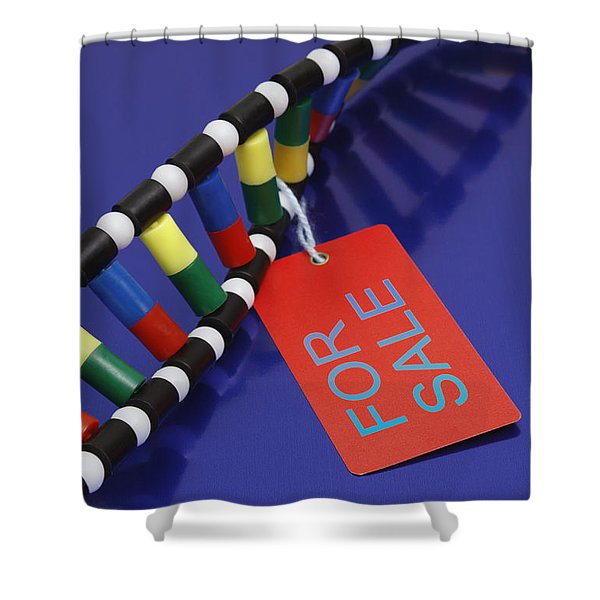 Dna Double Helix, For Sale Shower Curtain