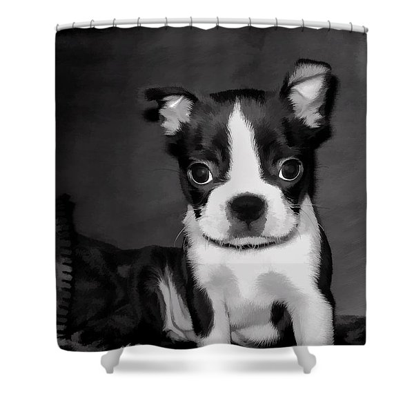 Do You Love Me Shower Curtain