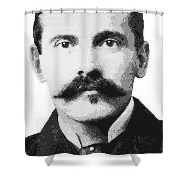 Doc Holliday Of The Old West Shower Curtain