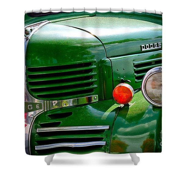 Dodge Truck Shower Curtain