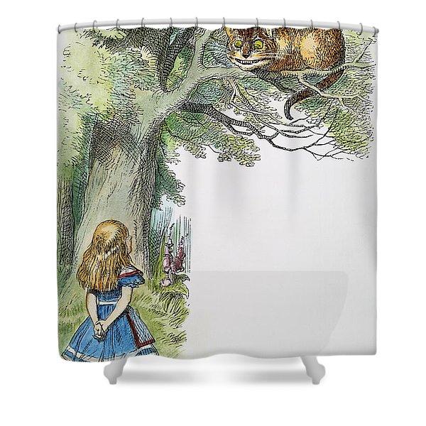 Dodgson: Alice, 1865 Shower Curtain