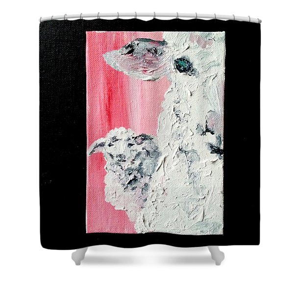 Dolly And Dot Shower Curtain