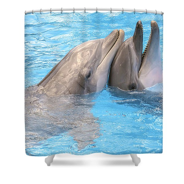 Bff - Best Friends Forever Shower Curtain