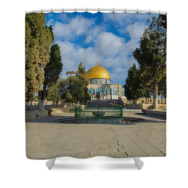 Dome Of The Rock Shower Curtain