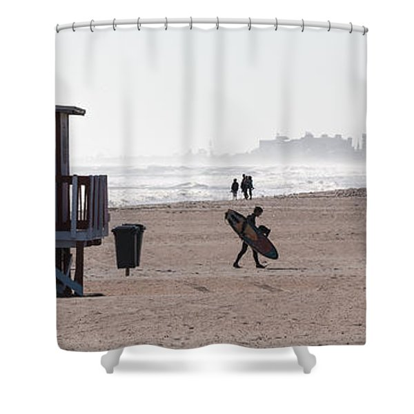 Done Surfing Shower Curtain