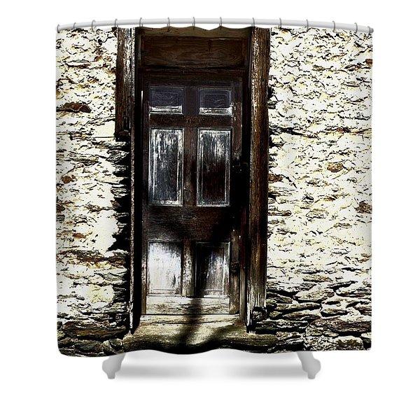 Door 3769 Shower Curtain