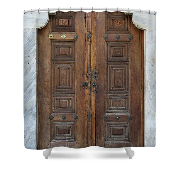 Door Of The Topkapi Palace - Istanbul Shower Curtain