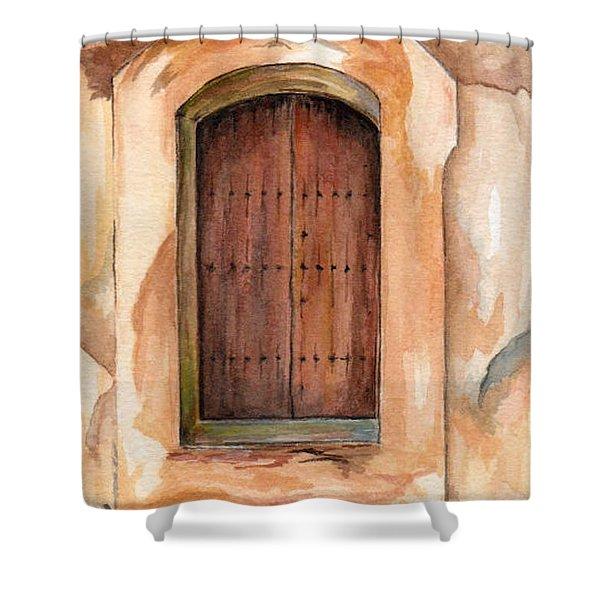 Door Series - Door 12 - San Juan Puerto Rico Shower Curtain