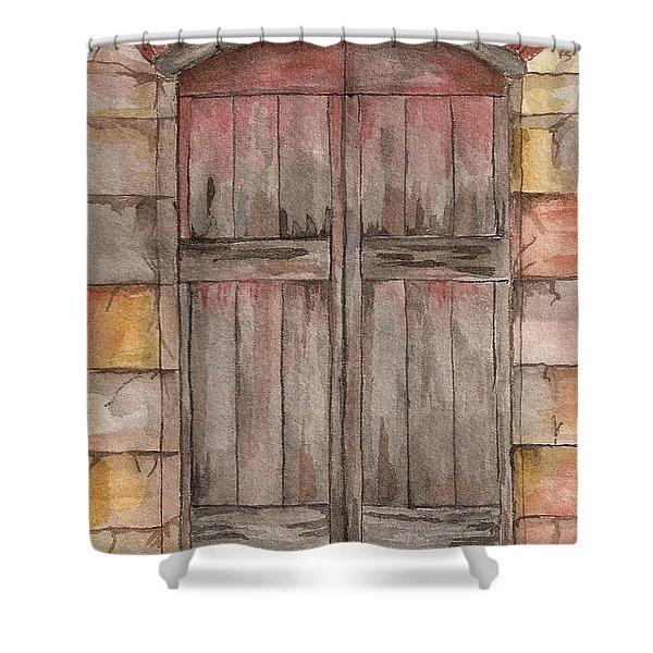 Door Series - Door 5 Shower Curtain