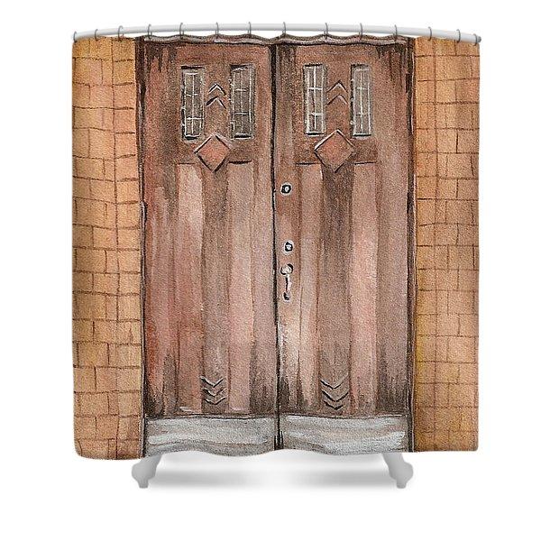 Door Series - Door 6 Shower Curtain