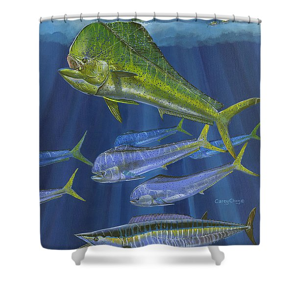Dorado Rip Off0057 Shower Curtain