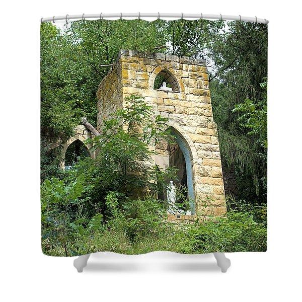 Dorchester Grotto Shower Curtain