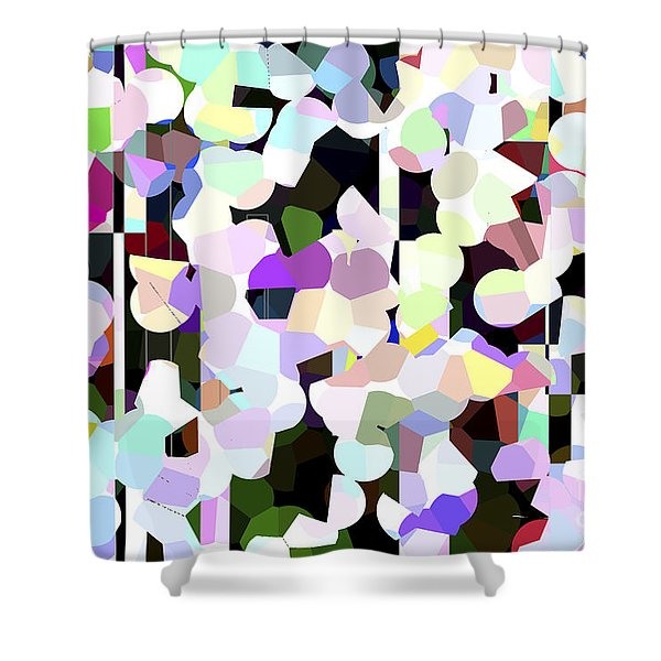 Dotted Car -part 1 Shower Curtain