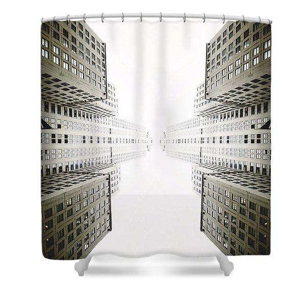 Double Deco Shower Curtain