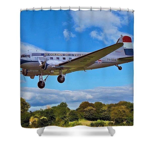 Douglas Dc3 Shower Curtain