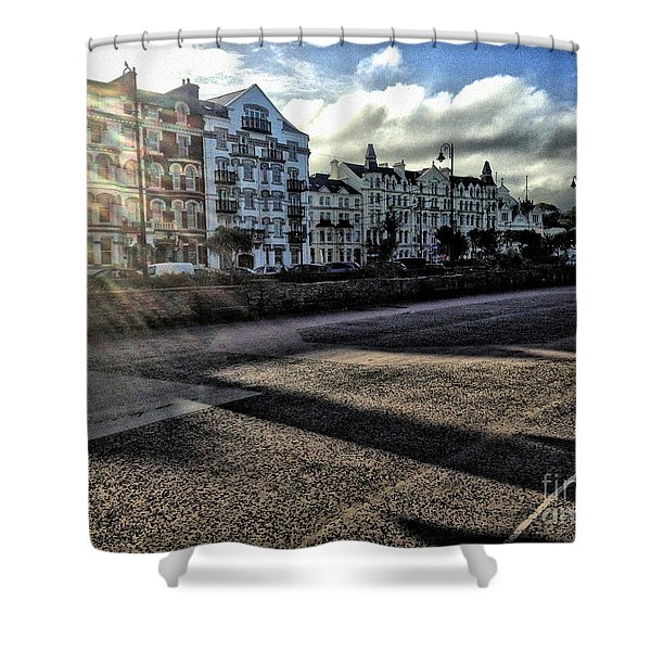 Douglas Sunset Shower Curtain