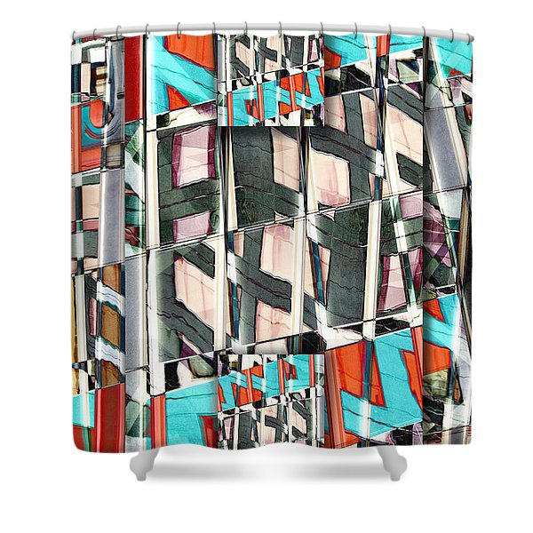 Downtown 2 Shower Curtain