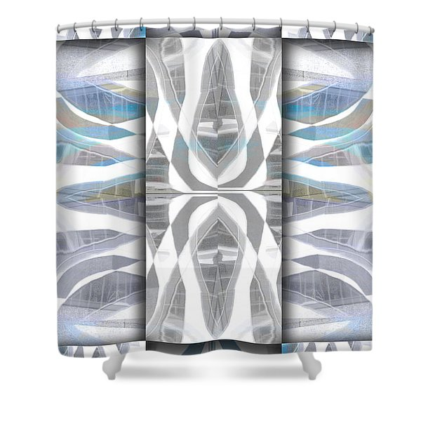 Downtown 3 Shower Curtain