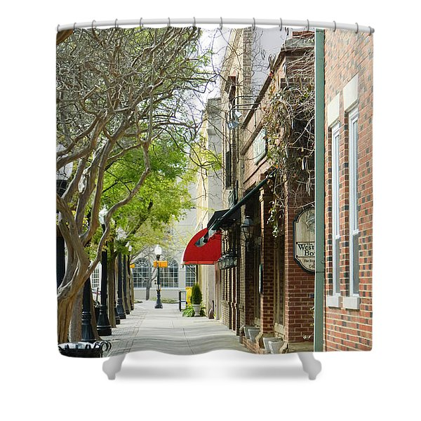 Downtown Aiken South Carolina Shower Curtain