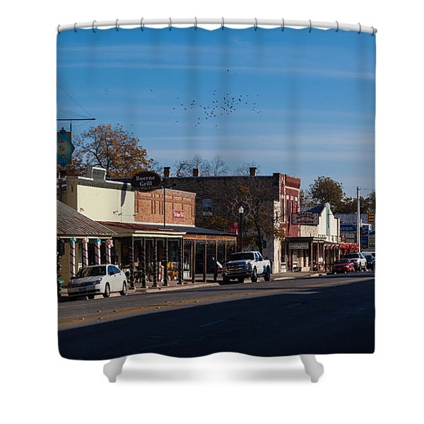 Downtown Boerne Shower Curtain