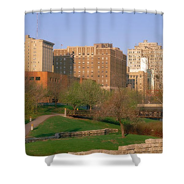 Downtown Omaha Ne Shower Curtain