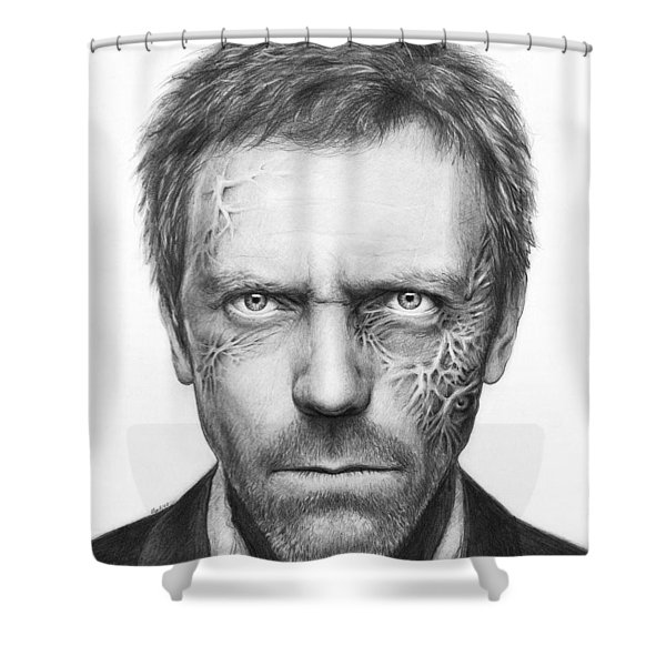 Dr. Gregory House - House Md Shower Curtain