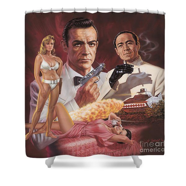 Dr. No Shower Curtain
