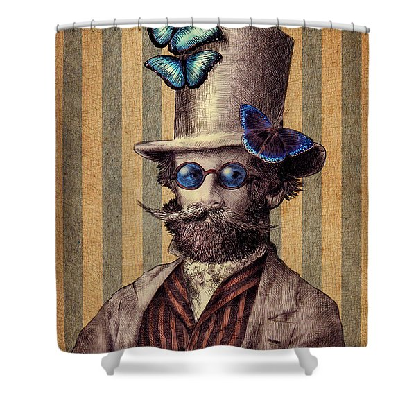 Dr. Popinjay Shower Curtain