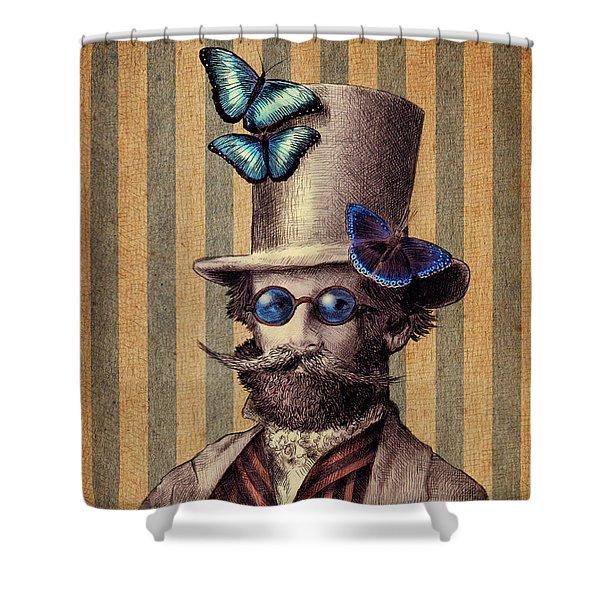 Dr. Popinjay Shower Curtain
