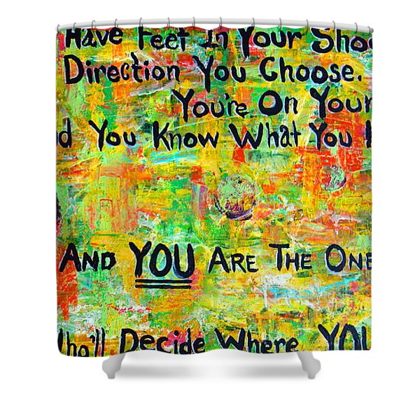 Dr. Suess Shower Curtain