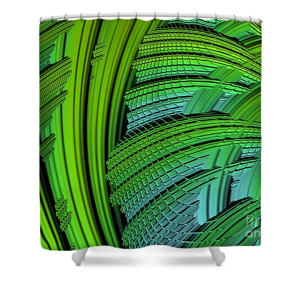 Dragon Skin Shower Curtain