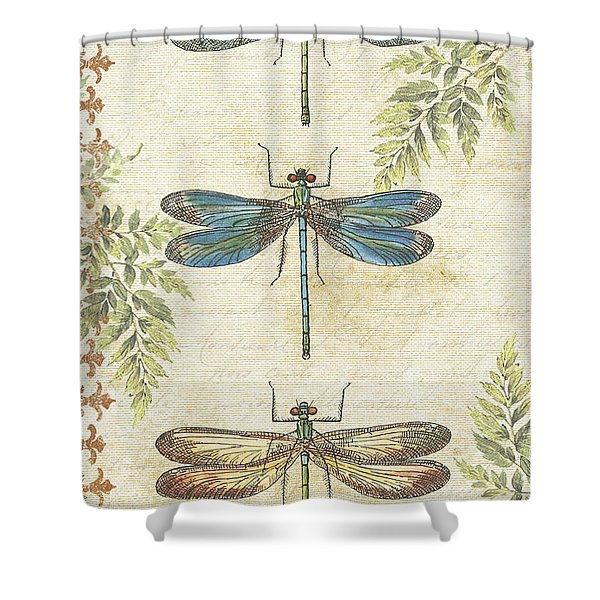 Dragonflies In The Summertime-jp2324 Shower Curtain